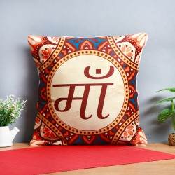 One Ma Printed Ethnic Cushion
