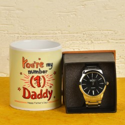 Fathers Day Mug N Watch Combo