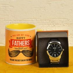Coffee Mug N Watch For Dad