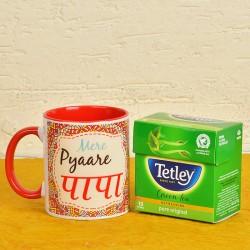 Mug N Green Tea Combo For Dad