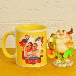 Personalised Mug N Buddha Combo For Dad