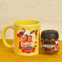Personalised Mug N Coffee Combo For Dad