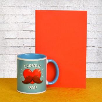Fathers Day Greeting Card N Mug