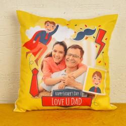 Personalised Dad Cushion