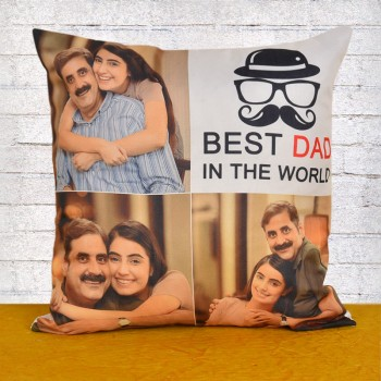 Best Dad Personalised Cushion