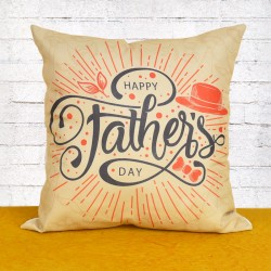 Fathers Day Celebration Cushion