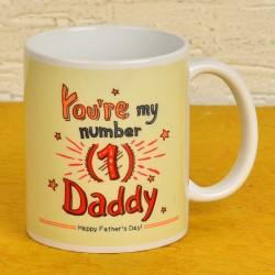 Number 1 Daddy Mug