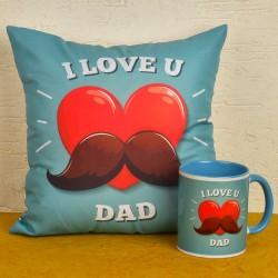 I Love U Dad Combo