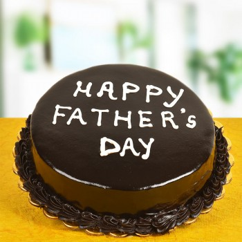 Half Kg Chocolate Cake For Fathers Day