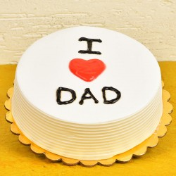 Classic Pineapple Cake For Dad