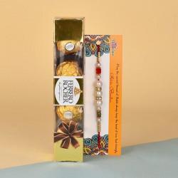 Pearl Rakhi N Ferrero Fusion