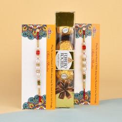 Ferrero Rocher N Pearl Rakhi Delight