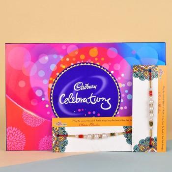 2 Pearl Rakhis N Cadbury Celebrations