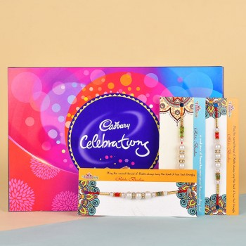 3 Pearl Rakhis N Cadbury Celebrations