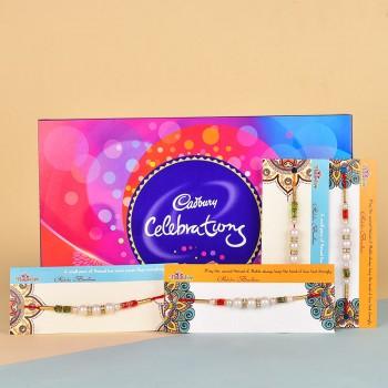 4 Pearl Rakhis N Cadbury Celebrations