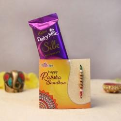 Pearly N Silky Rakhi Combo
