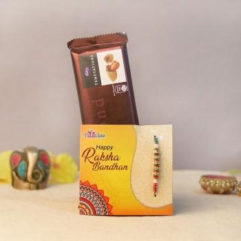 Crunchy Chocolaty Rakhi combo