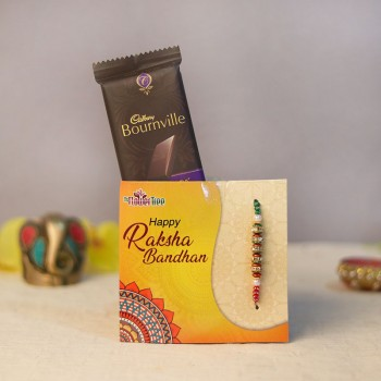 Appealingly Rich Rakhi Combo