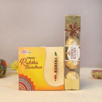 Chocolate Filled Rakhi