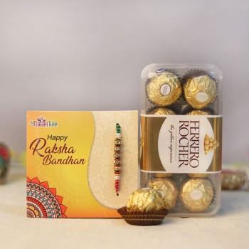 Toothsome Delight Rakhi Combo