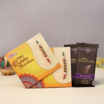 Chocolaty Rakhi Combo