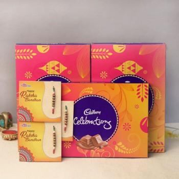 Cadburylicious Rakhi Combo