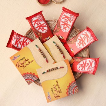A Kitkat Rakhi Party