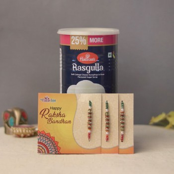 Rakhi Gift For Rasgulla Lover
