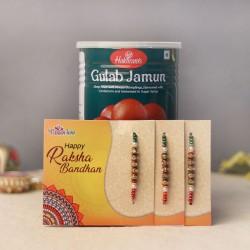 Gulab Jamun Special Rakhi Combo