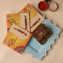 Triple Rakhi Fun