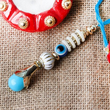 Blue Evil Eye Lumba Rakhi