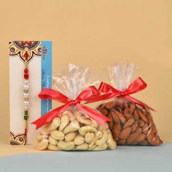 Pearl Rakhi N Dry Fruits