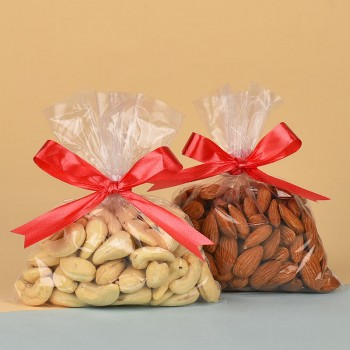 Pack of 100 gm Almonds and 100 gm Cashew Nuts