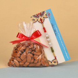 Pearl Rakhi N Almonds