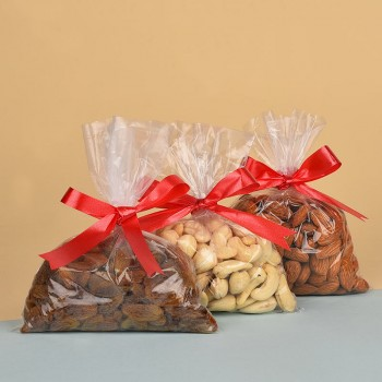 Pack of Almonds (100 gms), Cashew Nuts (100 gms) and Raisins (100 gms)