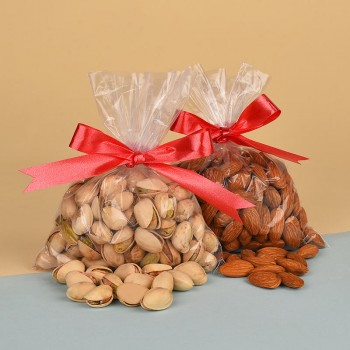 Pack of 100gm Almonds and 100gm Pistachios