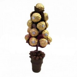 Ferrero Rocher Brown Tree