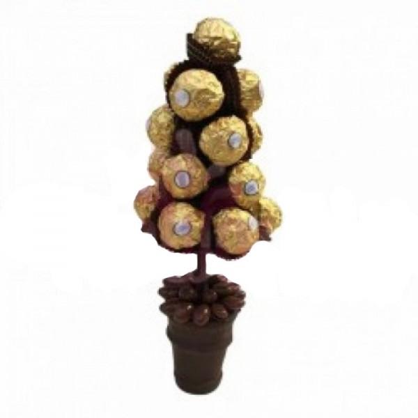 Bouquet of 18 pcs Ferrero Rocher Chocolate