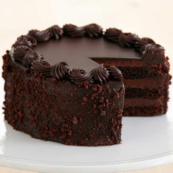 A Chocolate Truffle Cake
