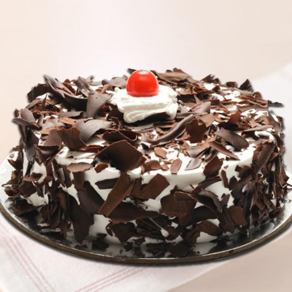 Black Forest Sugarfree Cake Half Kg