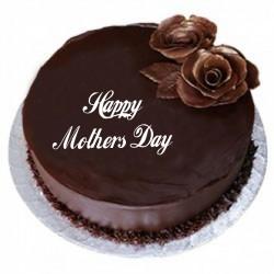 Eggless Chocolate Cake For Mom
