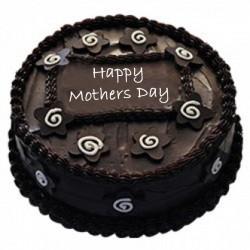 Dark Chocolate Cake Eggless For Mom