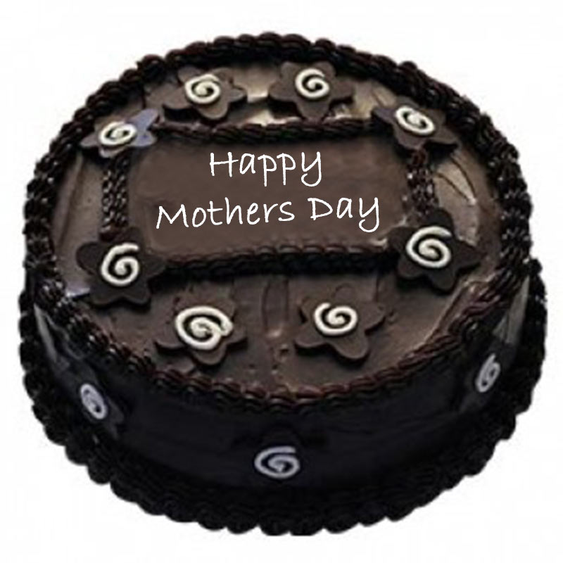 Dark Chocolate Cake Eggless For Mom
