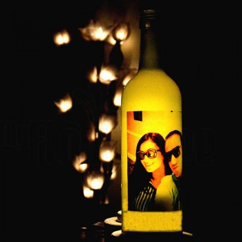 Personalised Bottle Lamp