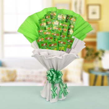 A Bouquet of 25 Twinnings Green Tea Bags
