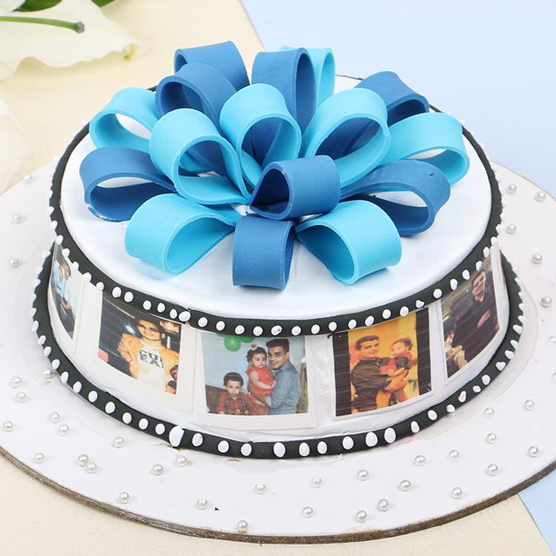 Multi Photo Cake