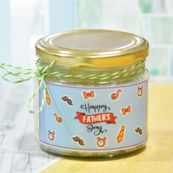 Pineapple Cake in a Jar for Dad