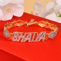 Designer Bracelet Rakhi for Bhaiya