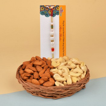 Pearl Rakhi N Dry Fruits Delight