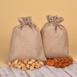 Almonds N Pistachios Jute Potlis
